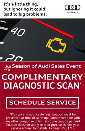 Complimentary Diagnostic Scan