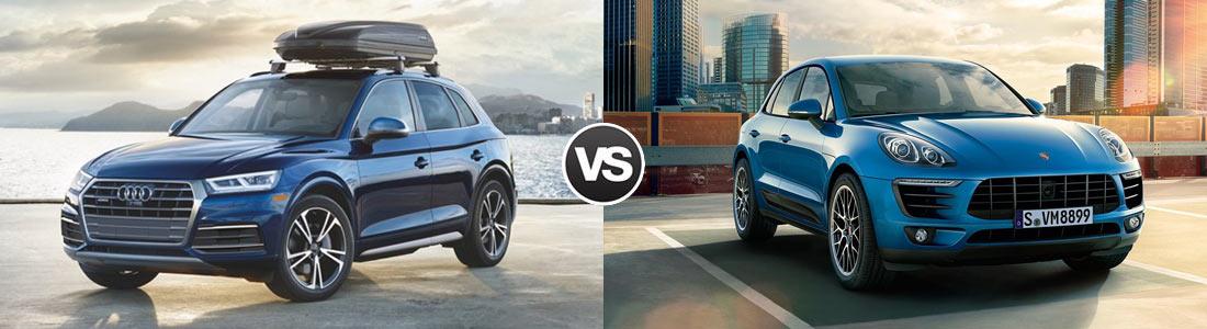 Compare 2018 Audi Q5 vs 2018 Porsche Macan