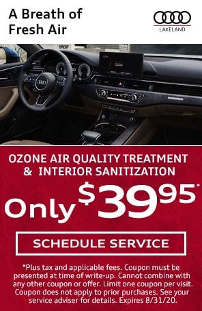 Ozone Treatment in Lakeland FL