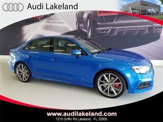 2018 Audi S3 2.0T Tech Premium Sedan