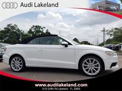 2016 Audi A3 1.8T Premium Cabriolet