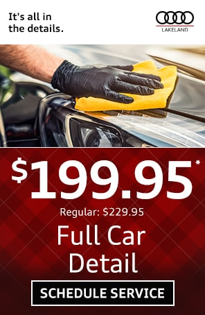 Full Car Detail Coupon in Lakeland FL