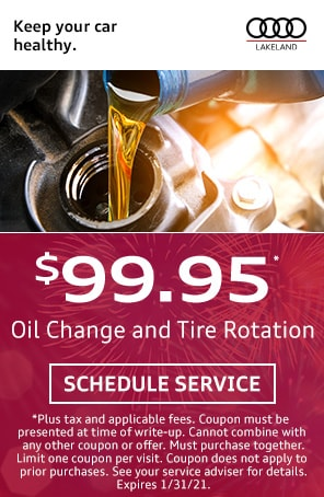 Oil Change and Tire Rotation in Lakeland FL