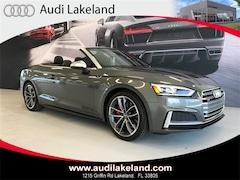 2018 Audi S5 3.0T Cabriolet