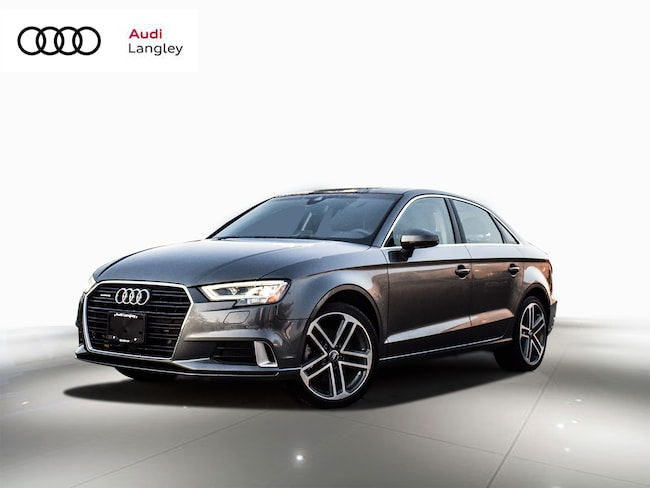 2018 Audi A3 2.0T Technik Quattro 6sp S Tronic Sedan