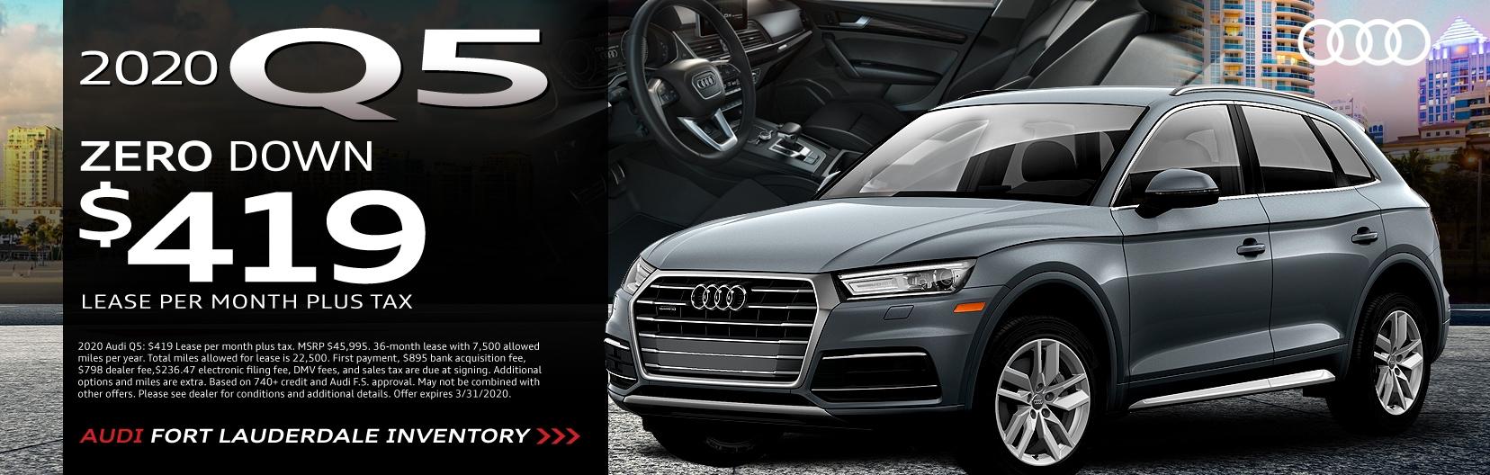 Audi Lighthouse Point >> Audi Fort Lauderdale | New Audi Dealership Serving ...