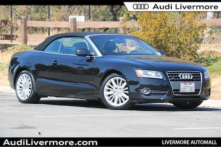 Featured Used 2011 Audi A5 2.0T Premium Cabriolet for Sale near Fremont, CA