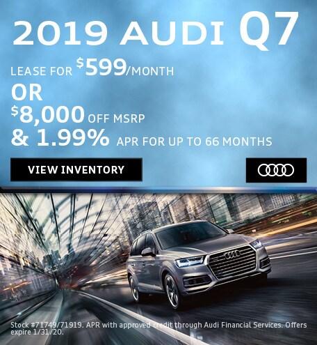 January 2019 Audi Q7