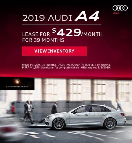 August 2019 Audi A4