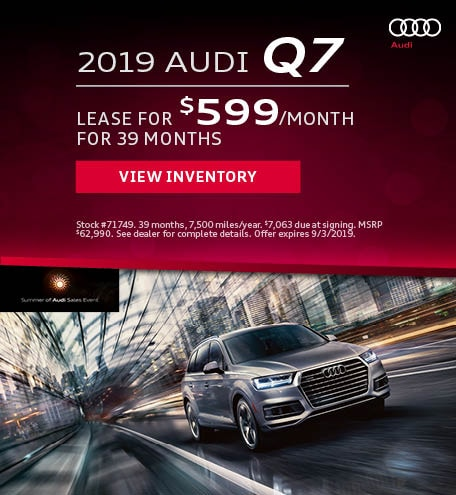 August 2019 Audi Q7