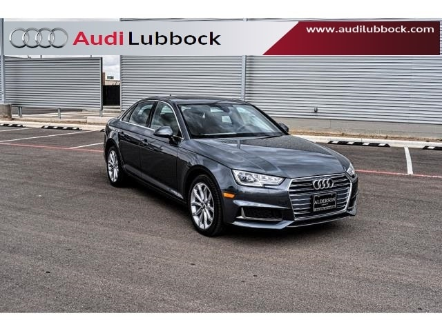 Used 2019 Audi A4 2.0T Premium Sedan for sale in Lubbock, TX