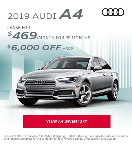 October 2019 Audi A4