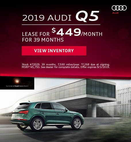 August 2019 Audi Q5