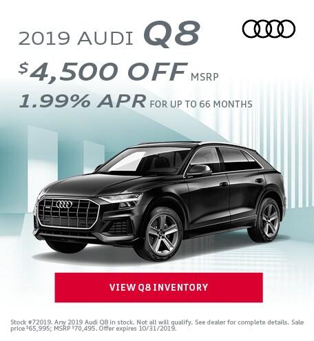 October 2019 Audi Q8