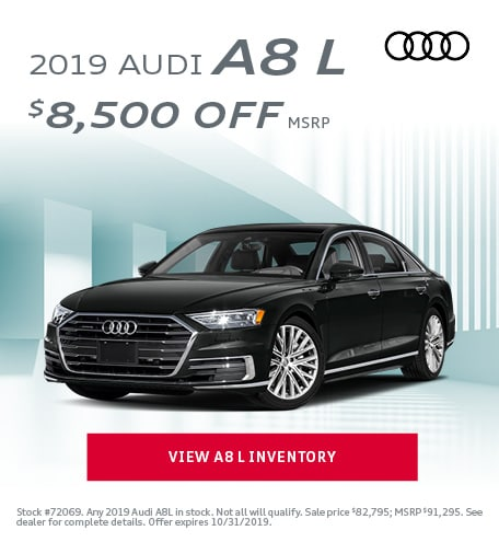 October 2019 Audi A8 L
