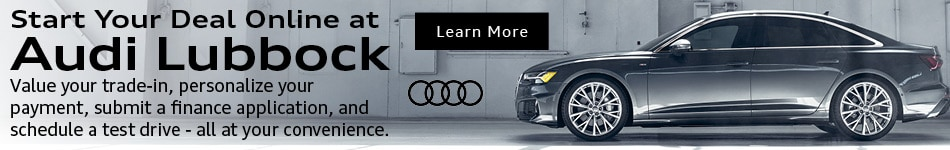 Digital Retailing at Audi Lubbock