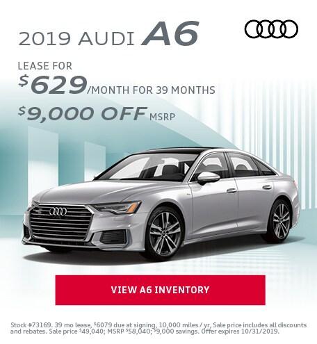October 2019 Audi A6
