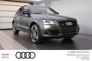 2017 Audi SQ5 3.0T Dynamic Edition ADMISSIBLE 6ANS 160 000KM VUS