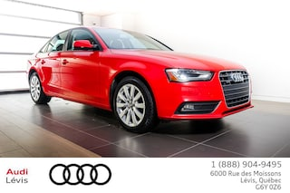 2014 Audi A4 2.0 Komfort ADMISSIBLE 6ANS 160 000KM Berline