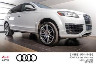2015 Audi Q7 3.0 TDI Vorsprung ADMISSIBLE 6ANS 160 000KM VUS