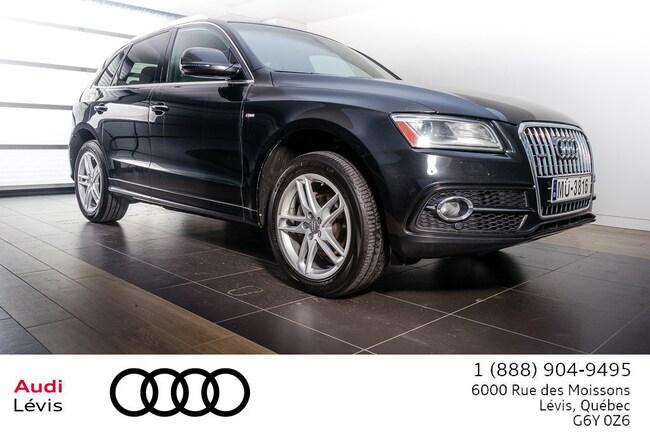 2016 Audi Q5 2.0T Progressiv SLine NAVIGATION VUS