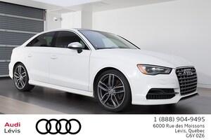 2016 Audi S3 2.0T Prog Navigation ADMISSIBLE 6ANS 160 000KM
