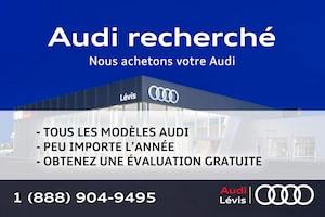 2017 Audi A4 2.0T Komfort ADMISSIBLE 6 ANS 160000KM