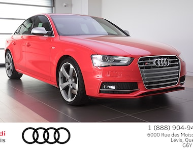 2015 Audi S4 3.0T Technik ADMISSIBLE 6 ANS 160 000KM Berline