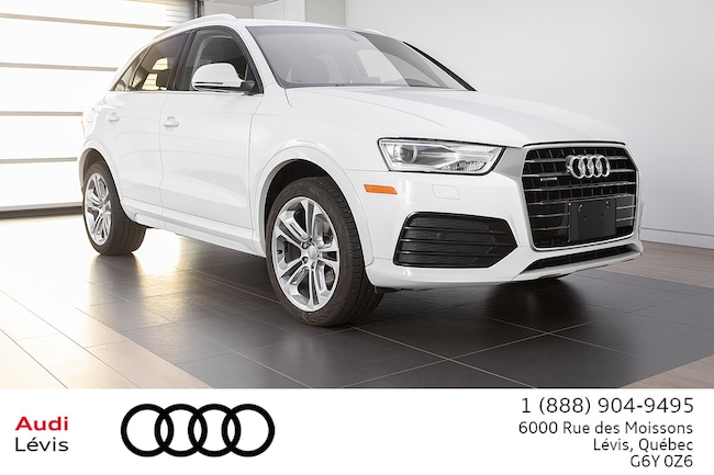 2018 Audi Q3 2.0T Progressiv ADMISSIBLE 6 ANS 160 000KM VUS