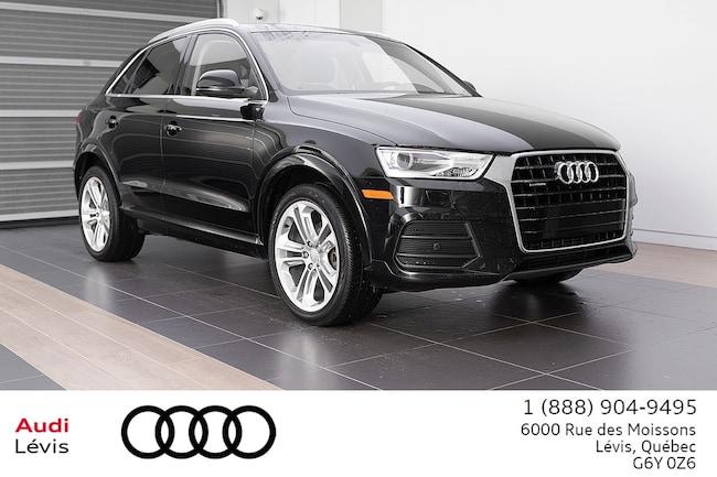 2017 Audi Q3 2.0T Progressiv ADMISSIBLE 6ANS 160 000KM VUS