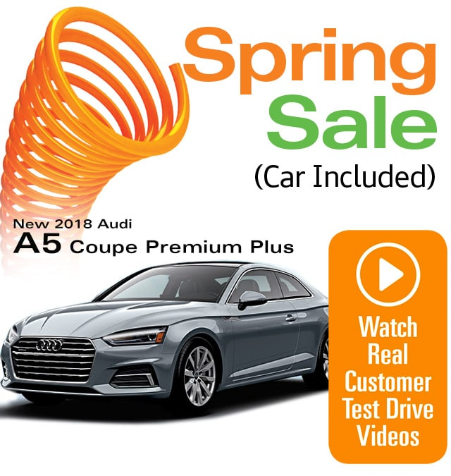 Audi A5 Coupe Premium Plus Lease Special