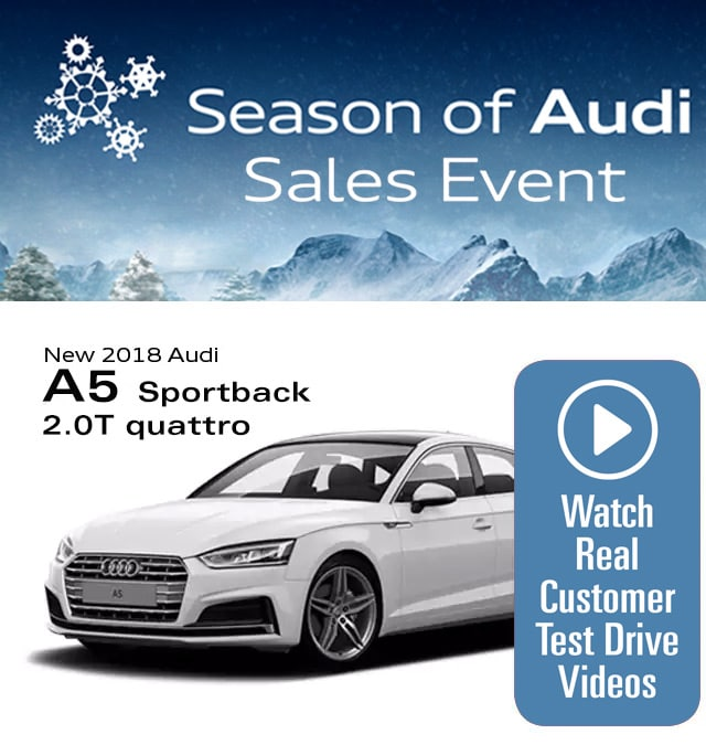 Audi Lynbrook Home: Audi A5 Sportback Lease Special