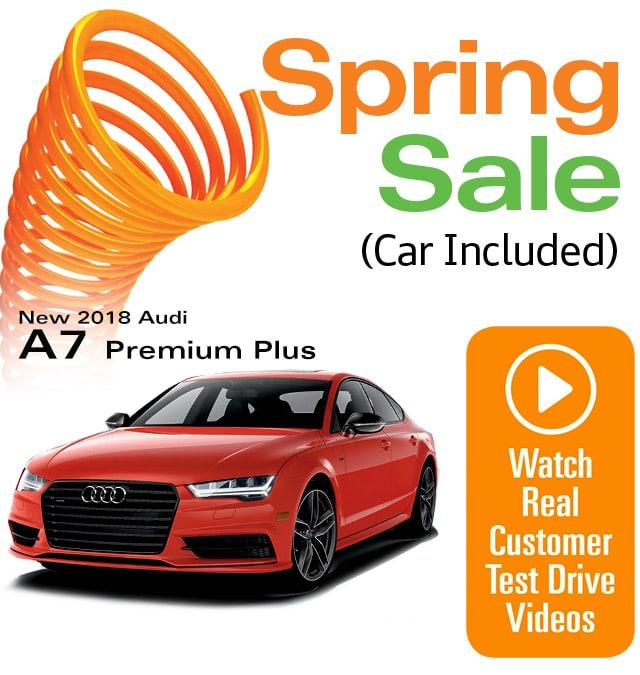 2018 Audi A7 Premium Plus Lease Special