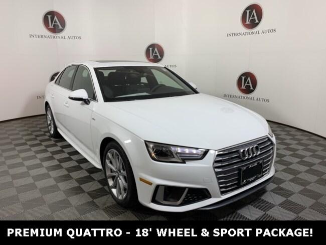 2019 Audi A4 2.0T Premium Sedan Milwaukee