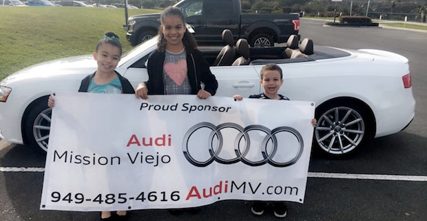 Audi Mission Viejo supporting Festival of Whales