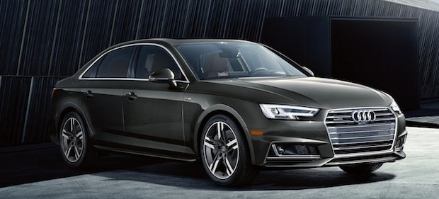 2017 Audi A4 showroom near Newport Beach