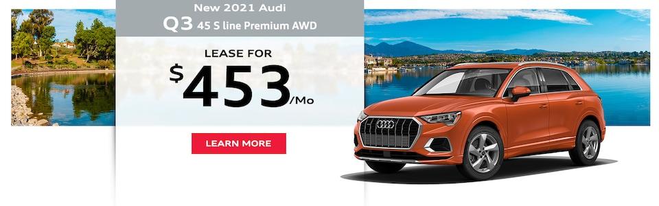 New 2021 Audi Q3 45 S Line Premium AWD