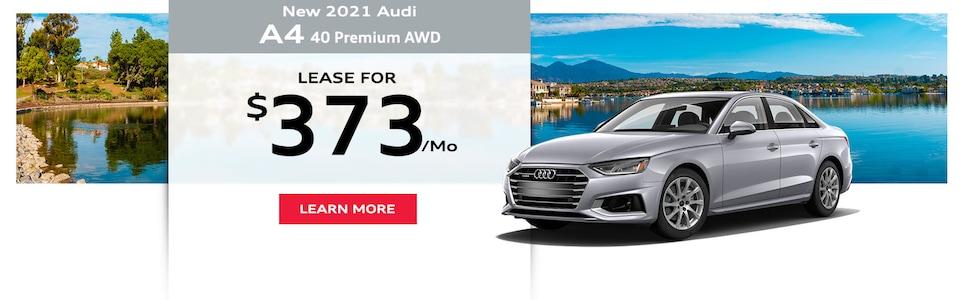 New 2021 Audi A4 40 Premium AWD