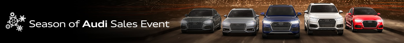 Season of Audi Sales Event