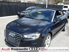 2016 Audi A3 2.0T Premium (S tronic) Cabriolet for sale in Monroeville near Pittsburgh, PA