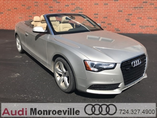 Pre-Owned 2013 Audi A5 2.0T Premium (Tiptronic) Cabriolet near PIttsburgh, PA