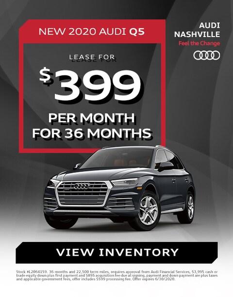 2020 Audi Q5 Lease Specials