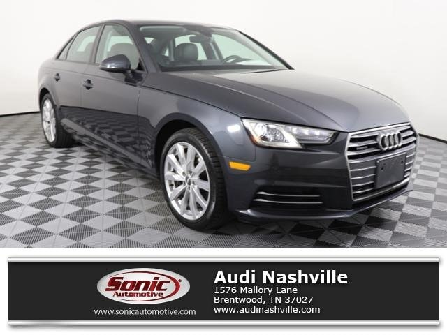 Certified Pre-Owned 2017 Audi A4 Premium Sedan for sale in Brentwood, TN