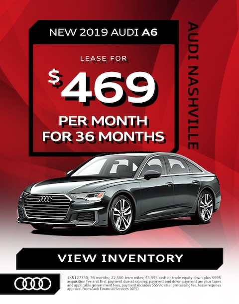 A6 Audi Lease Offer 2020