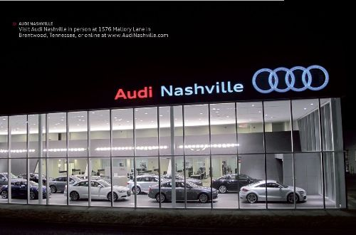 Audi Of Nashville >> We Re Committed To The Nashville Community Local Community