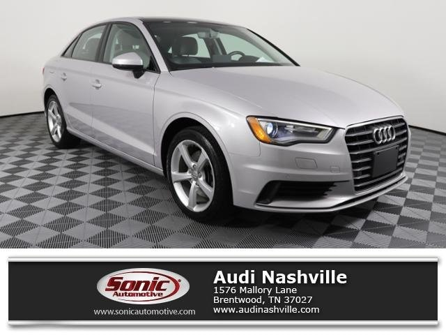 Used 2016 Audi A3 1.8T Premium Sedan for sale in Brentwood, TN