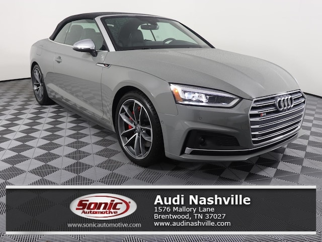New 2019 Audi S5 Prestige Cabriolet for sale in Brentwood, TN