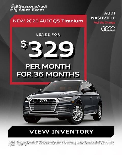Audi Q5 Lease Special