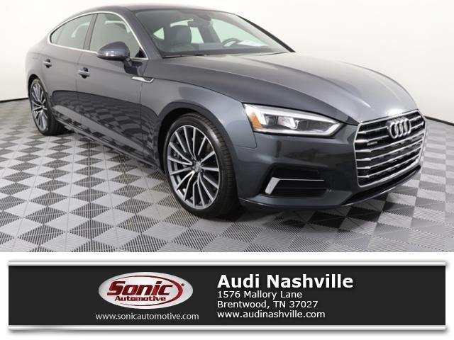 Certified Pre-Owned 2019 Audi A5 Sportback Premium Plus Sportback for sale in Brentwood, TN