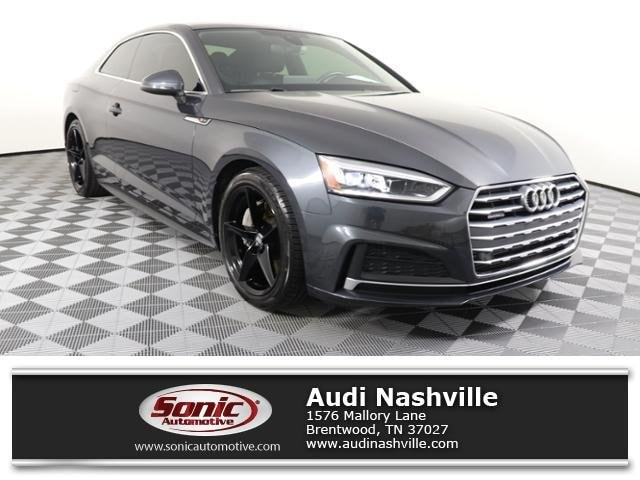 Certified Pre-Owned 2018 Audi A5 Coupe Premium Plus Coupe for sale in Brentwood, TN